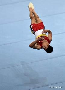 Mu Jile wins men's floor exercise final of gymnastics at ...