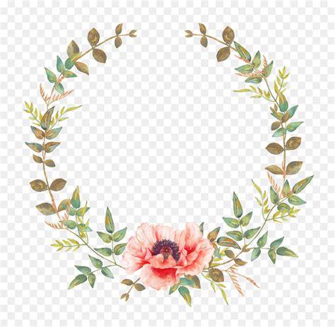 wedding invitation flower convite wreath garland