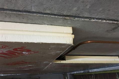 isolation de plafond de dalle beton performance habitat