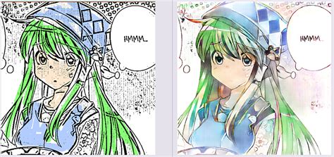 deepcolor automatic coloring  shading  manga style