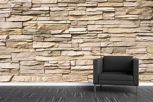Tapisserie 4 Murs : papier peint mur de vieilles pierres papier peint ~ Zukunftsfamilie.com Idées de Décoration