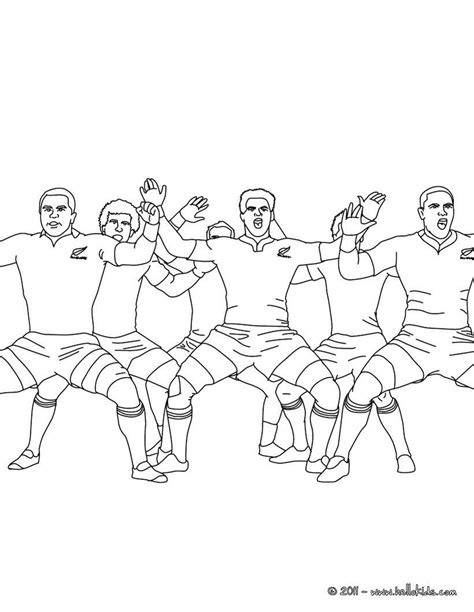 Rugby Kleurplaat by You Will This All Haka Coloring Page Get Them