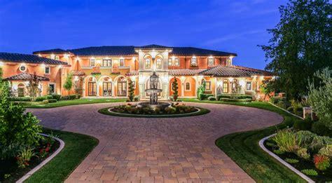$185 Million Mediterranean Style Mansion In Danville, Ca
