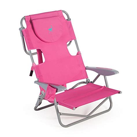 ostrich on your back chair pink coconuas224