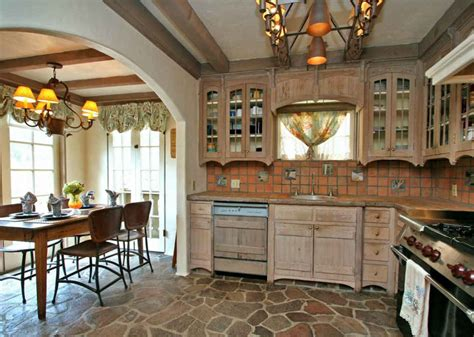 mi bois cuisine cottage kitchen and breakfast room hooked on houses