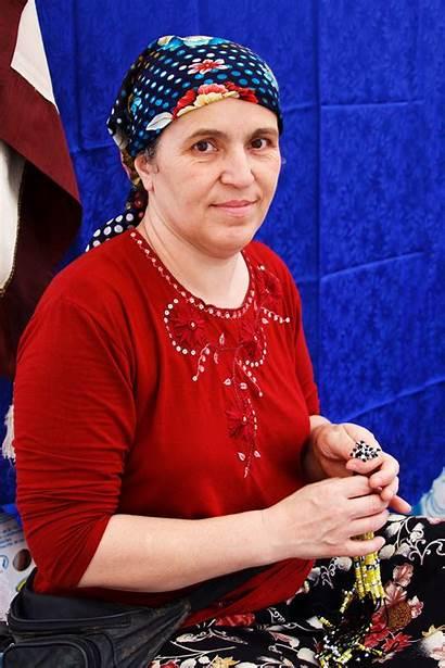 Turkish Woman Older Domain Publicdomainpictures Portrait 50s