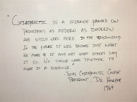 chiropractic whiteboard quotes quotesgram
