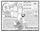 Activity Claim Coloring Sheet Sheets Printable Burger sketch template