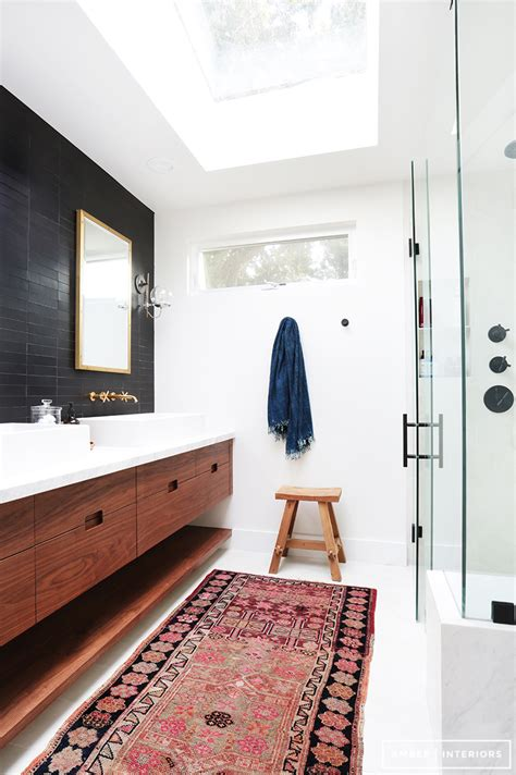 Bathroom Rug Ideas by 7 Easy Bathroom Updates You Can Do This Weekend Stylecaster