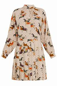 Paul Joe : lyst paul joe horse print dress in natural ~ Orissabook.com Haus und Dekorationen