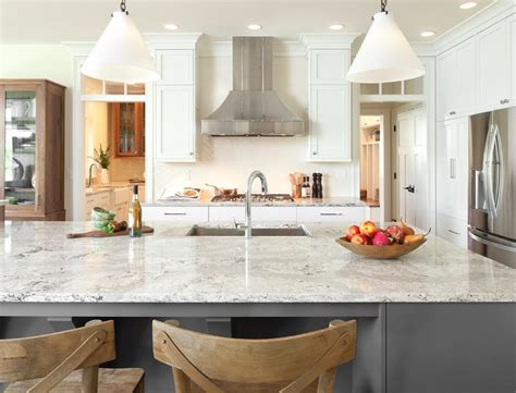 breakfast nooks for kitchen white kitchen with gray quartz countertop