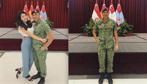 daughter  highest ranked saf warrant officer sweetly