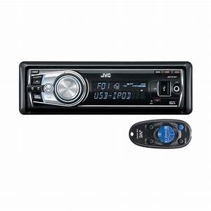 Jvc Kd-r701 Cd    Mp3 Ipod Ready Car Stereo