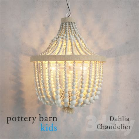 Pottery Barn Baby Ceiling Lights by 3d Models Ceiling Light Pottery Barn Dahlia Chandelier