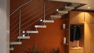Halbgewendelte Treppe Mit Podest : innentreppen aus granit beton marmor und naturstein wagner treppenbau mainleus ~ Markanthonyermac.com Haus und Dekorationen