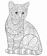 Adulti Malbuch Bookpage Coloriages Kitty Justcolor Volwassen Ontspannen Kleurende Zenkunst Stijlillustratie Boek Impagina Sveglio Rilassarsi Nonuzza Kolorowanki Druku Frohe Ostern sketch template
