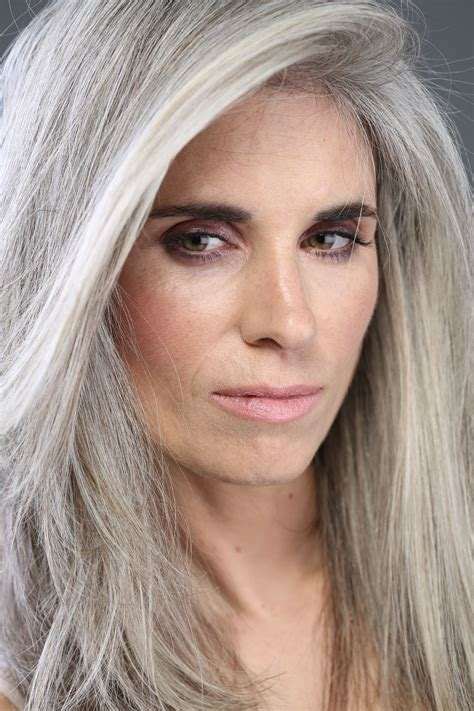 Hairgray Silver Beautiful On Pinterest Gray Hair