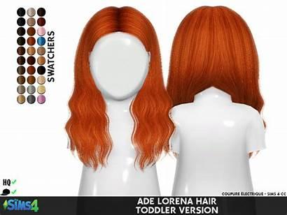 Sims Toddler Cc Hair Ade Lorena Redheadsims