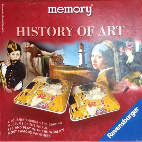 memory history  art board game ravensburger