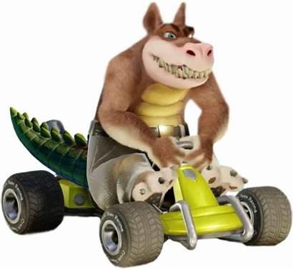Dingodile Crash Bandicoot Racing Team Fandom Villains