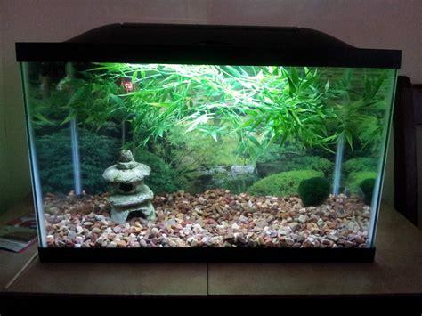 Decorating Ideas For Fish Tank by Asian Fish Aquarium Decor Aquarium Design Ideas