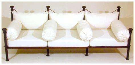 canapé en fer salons canapé fer forgé rzk maroc innov destockage grossiste