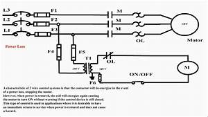 2 Wire Control  Uses Of 2 Wire Control  2 Wire Control Circuit Diagram  Two Wire Motor Control