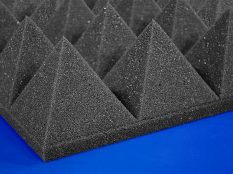soundproofing acoustical foam sound control  pyramid foam