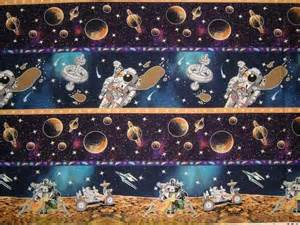 Space-Themed Quilt Fabric