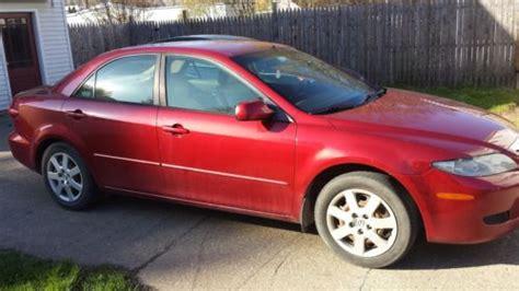 Purchase Used Red 2005 Mazda 6, 159k Miles, Noisy Motor
