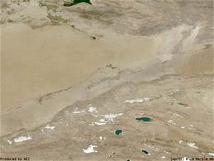 Blue Marble Images of Silk Road - Qarqan River and Lop Nor ...