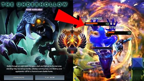 new custom added the underhollow gameplay by immortal players dota 2 battle pass