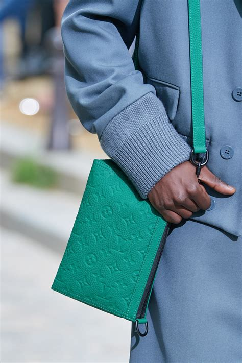 louis vuitton mens springsummer  runway bag collection spotted fashion