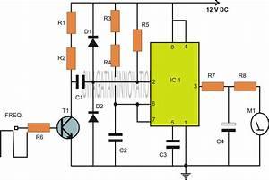 Ic 555 Based Capacitance Meter Circuit
