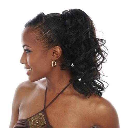 Black Ponytail Hairstyles by 12 Best Ponytail Hairstyles For Black With Black Hair