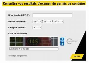 Numero De Permis De Conduire : les r sultats du permis de conduire d sormais accessibles sur internet ~ Medecine-chirurgie-esthetiques.com Avis de Voitures
