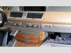 BMW 745 750 Dash Wood Trim & Center Air Vent Removal Part