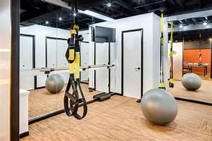 Modern Dublin Basement Industrial Home Gym Columbus
