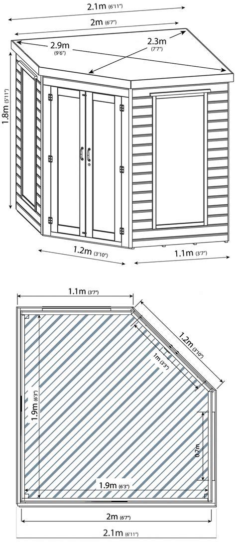 corner summerhouse  double doors gazebo direct