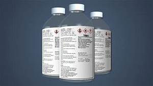 online hazard communication training video With chemical bottle labels
