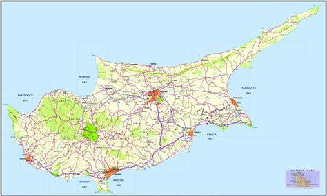 road map  cyprus