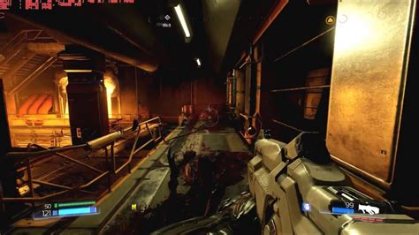 Provided that you have at least an amd radeon hd 7870 graphics card you can play the game, but id software recommend an nvidia geforce gtx 970 or better to run the game at its best to meet the doom system requirem Doom 2016 pc gameplay 4k - YouTube