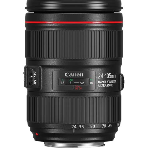 canon ef 24 105mm f4l is ii usm lens
