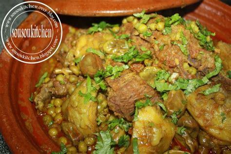 cuisine de sousou tajine d 39 agneau aux artichauts طاجين بالقوق sousoukitchen