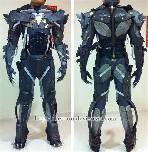 Metal Gear Rising Raiden Suit Test By Keruuu On Deviantart