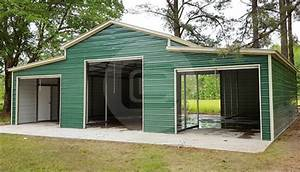 42x36x12 Carolina Barn Vertical Roof Metal Barn For Sale