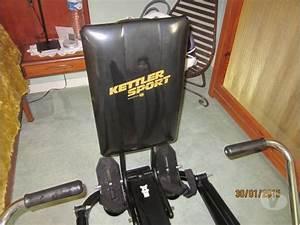 Appareil Musculation Maison : kettler sport rameur muscu maison ~ Melissatoandfro.com Idées de Décoration