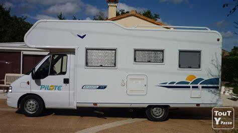 camping car capucine pilote  lits superposes pays de la