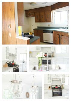 kitchen shelves and cabinets before and after a bright airy open concept southern 5602