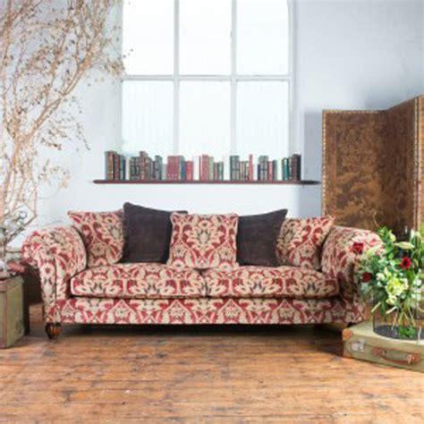 canapé style anglais en tissu canapé anglais chester 3 places elgar en tissu longfield